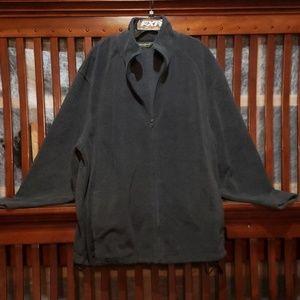 Eddie Bauer zip up fleece jacket